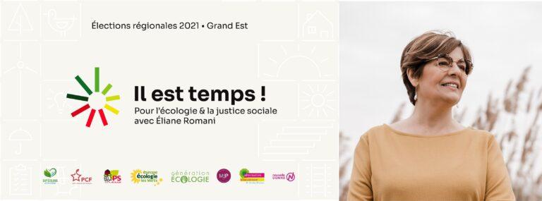 POUR LE CHANGEMENT VOTEZ ELIANE ROMANI