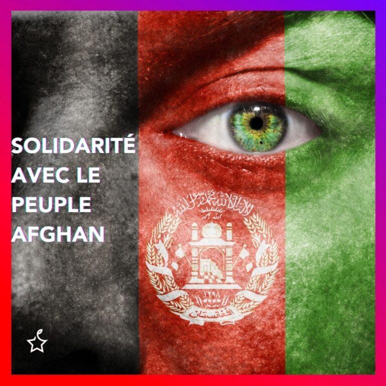 C'EST DANS L'URGENCE QUE LA FRANCE DOIT AGIR POUR AIDER LA POPULATION AFGHANE !